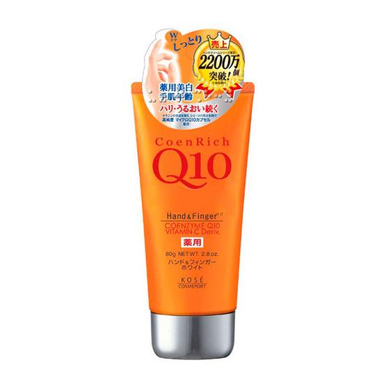 COENRICH Q10 WHITENING HAND & FINGER DEEP MOIS 80 G