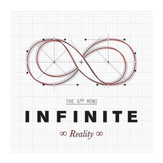 CD INFINITE The 5th mini Album Reality (Local)