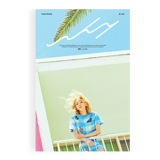 CD Taeyeon The 2nd Mini Album Why (Local)