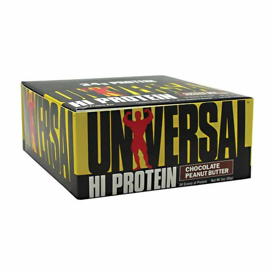 Universal High Protein bar Chocolate Peanut Butter 1 กล่อง บรรจุ 16 แท่ง