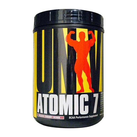 Universal Atomic 7 ขนาด 1 Kg  แบบชงดื่ม รสเชอร์รี่ ทานได้ 30 ครั้ง