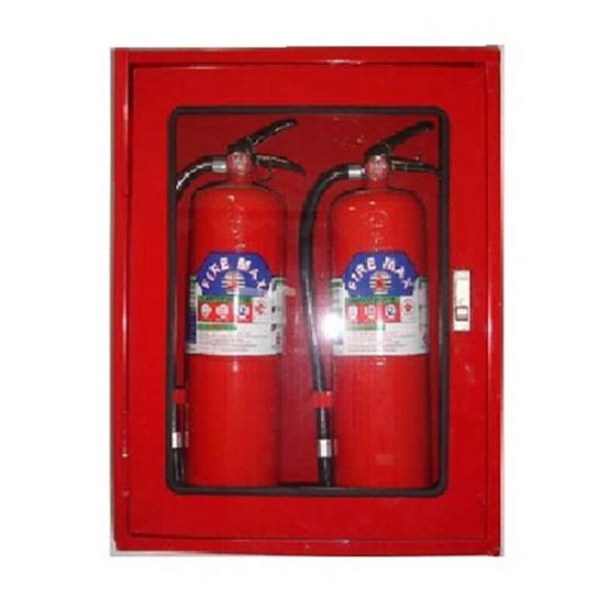 ตู้เก็บถังดับเพลิง (ถังคู่) 60x70x20cm