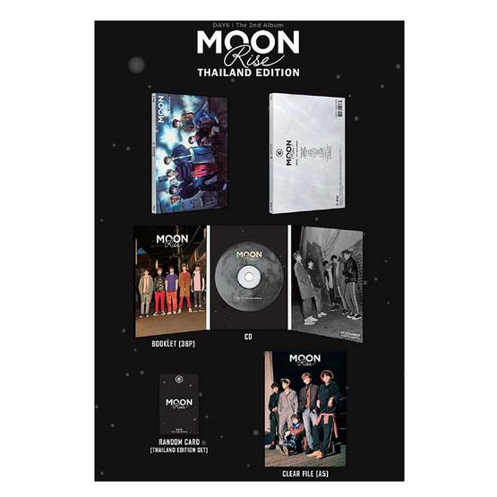 CD DAY6 Album MOONRISE THAILAND EDITION
