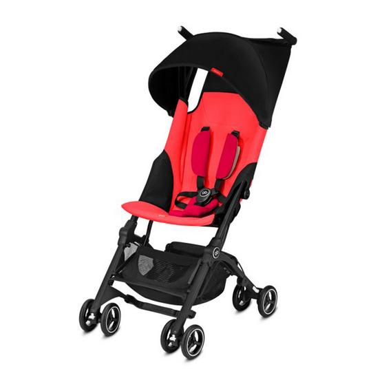 GB POCKIT+ รถเข็นเด็กพับเล็ก สีแดง