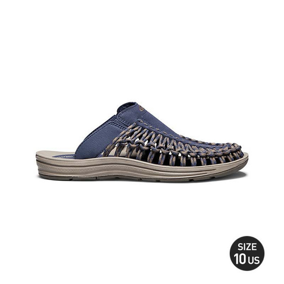 KEEN รองเท้าผู้ชาย 1018704 M-UNEEK SLIDE DRESS BLUES/CANTEEN