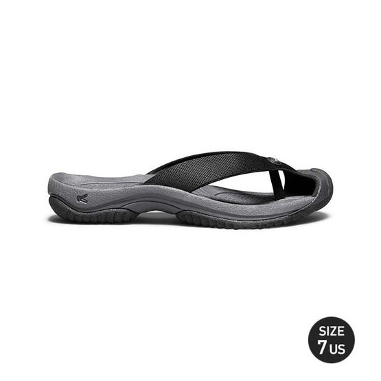 KEEN รองเท้าผู้ชาย 1019210 M-WAIMEA H2 BLACK/STEEL GREY