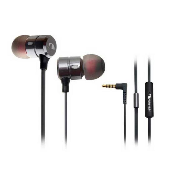 Nakamichi หูฟังแบบอินเอียร์ Metal แบบมีไมค์ NMMR310
