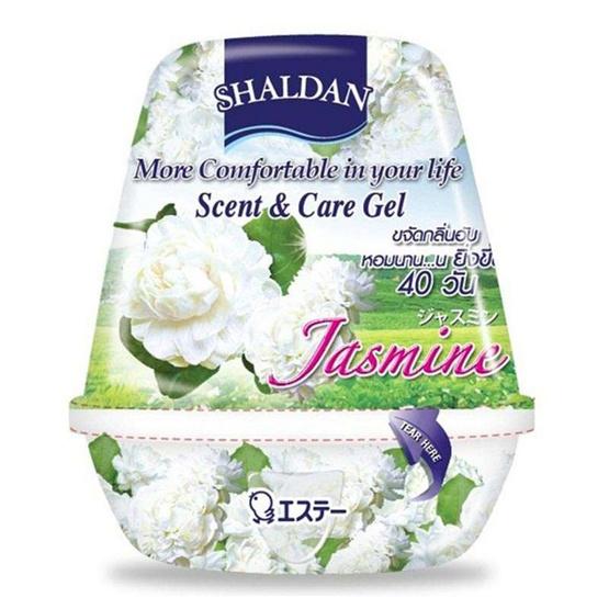 เจลหอมปรับอากาศ SHALDAN รุ่น SCENT & CARE กลิ่น JASMINE (180 กรัม)