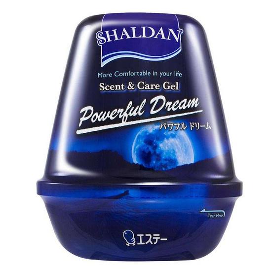 เจลหอมปรับอากาศ SHALDAN รุ่น SCENT & CARE กลิ่น POWERFUL DREAM (180 กรัม)