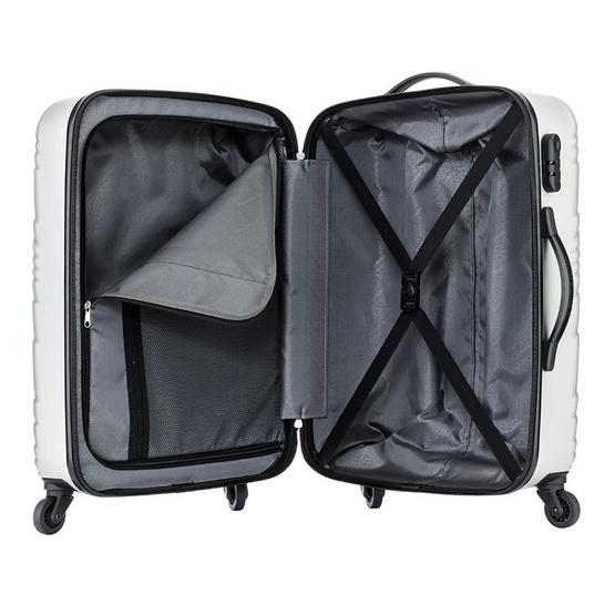 Kamiliant กระเป๋าเดินทาง รุ่น KANYON SET Size 20+24+28 นิ้ว สี SILVER