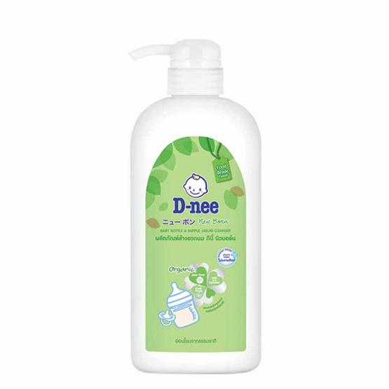 D-nee นิวบอร์น ล้างขวดนม แบบขวดปั้ม 620 มล.