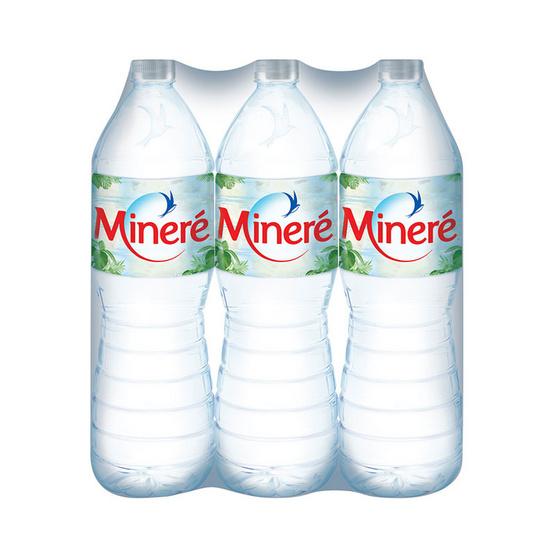 มิเนเร่ น้ำแร่ 1.5 ลิตร (6 ขวด)