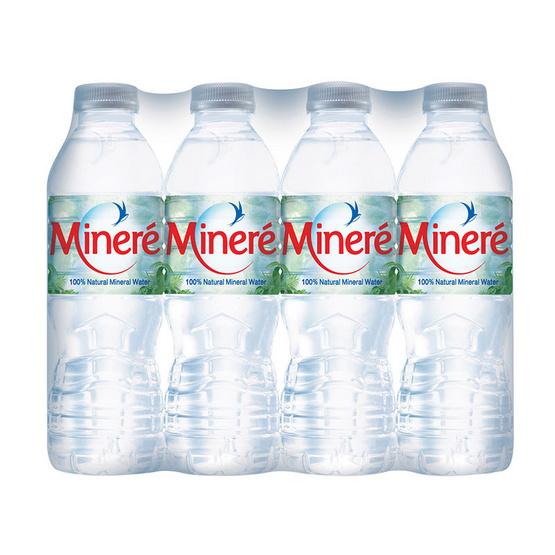 มิเนเร่ น้ำแร่ 0.33 ลิตร (12 ขวด)