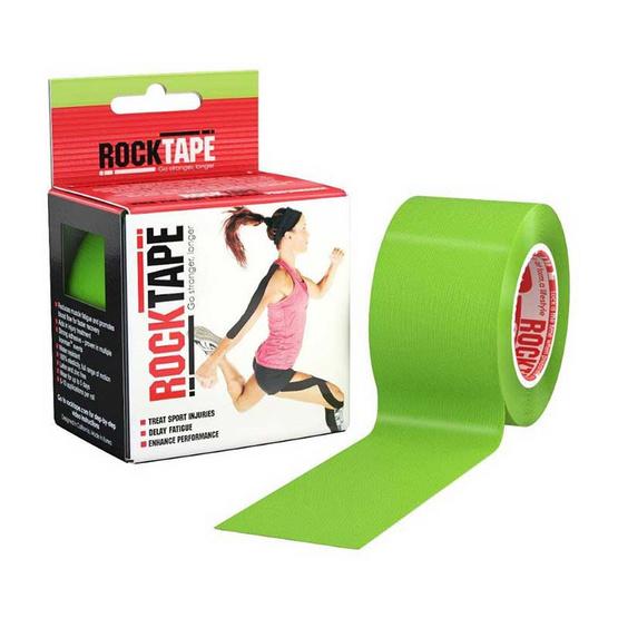ROCKTAPE เทปพยุงกล้ามเนื้อ รุ่นมาตรฐาน สีเขียว ขนาดกว้าง 5cm ยาว 5m