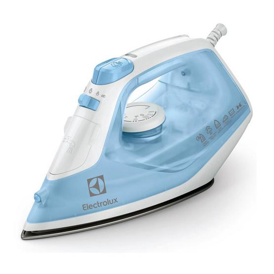 Electrolux เตารีดไอน้ำ ESI4017 (สีฟ้าขาว)