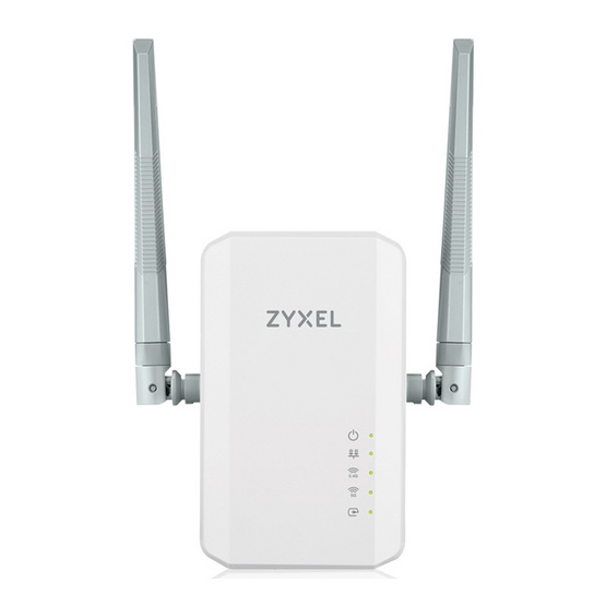 ZyXEL PLA5236 1000 Mbps Powerline AC900 Wireless Extender