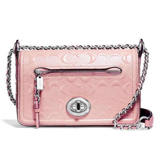 กระเป๋า COACH F22292 LEX SMALL FLAP CROSSBODY