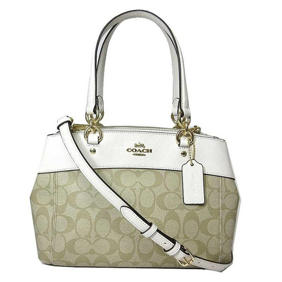 กระเป๋า COACH F26139 MINI BROOKE CARRYALL