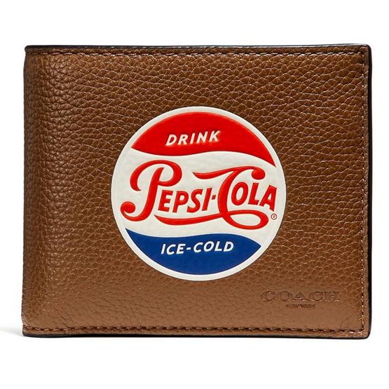 กระเป๋าสตางค์ COACH F26085 3-IN-1 WALLET WITH PEPSI® MOTIF