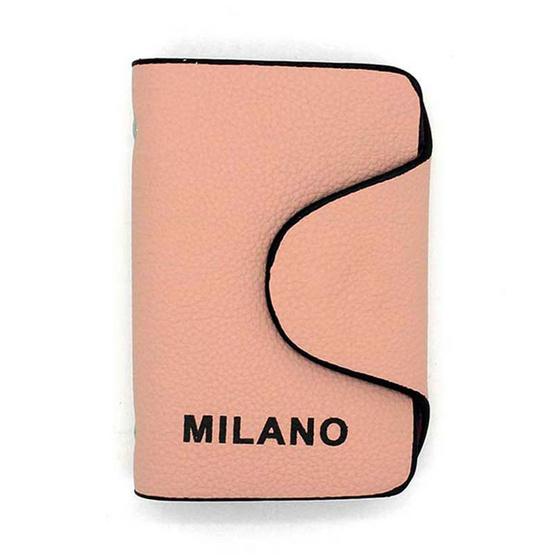 Milano กระเป๋าใส่นามบัตร รุ่น MNW-A PK