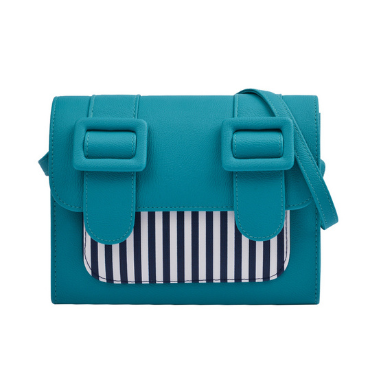 Merimies Strip Cute M-Turquoise ริ้วเขียว M