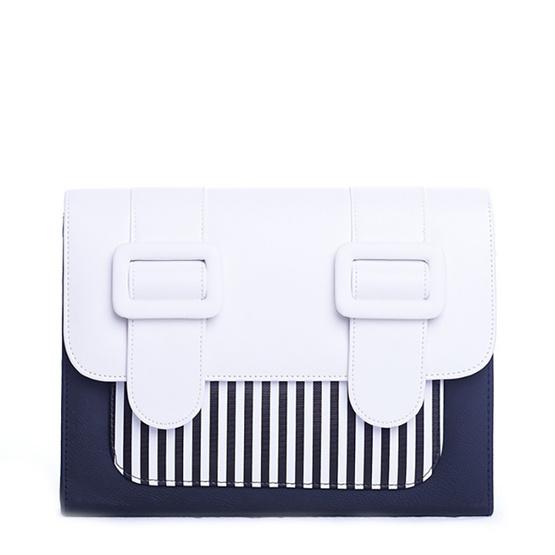 Merimies Strip Cute M-White + Black  ริ้วขาวดำ M