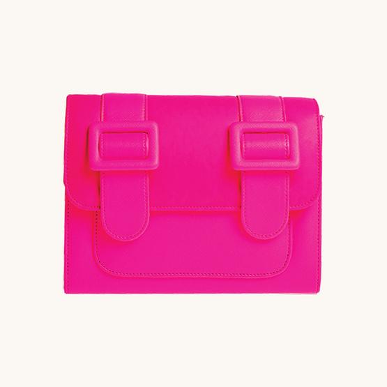 Merimies Plain Neon M-Pink นีออนชมพู M