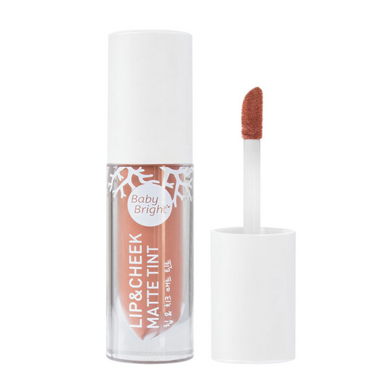 Baby Bright Lip & Cheek Matte Tint 2.4 g No.11 Dry Halabong