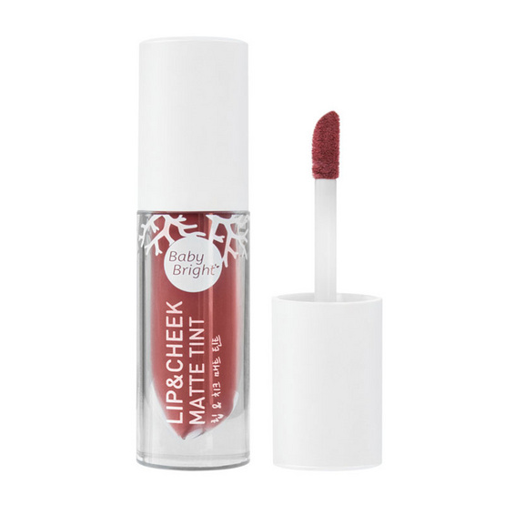 Baby Bright Lip & Cheek Matte Tint 2.4 g No.17 Rose Apple