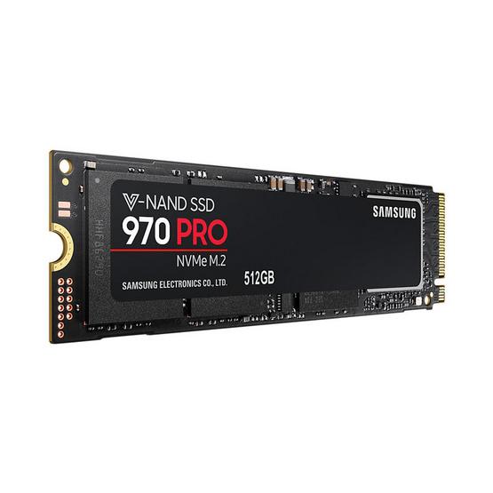 Samsung SSD 970 PRO M.2 NVMe/PCIe 512GB