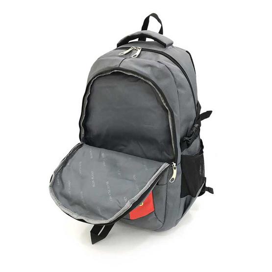 BLUE PLANET กระเป๋าเป้ รุ่น P1406-1 สีเทา