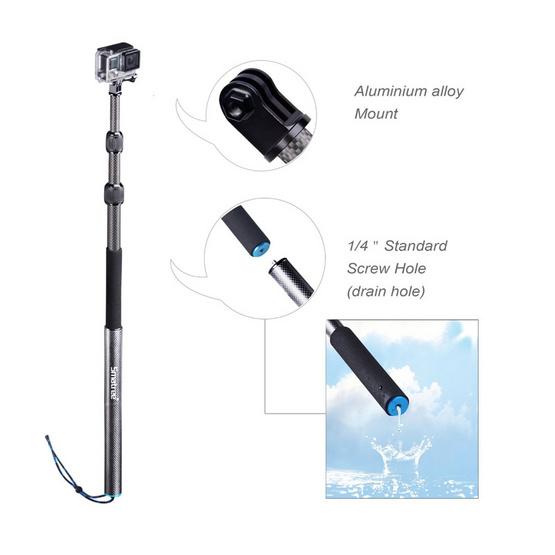 Smatree SmaPole S3C Floating Pole for GoPro