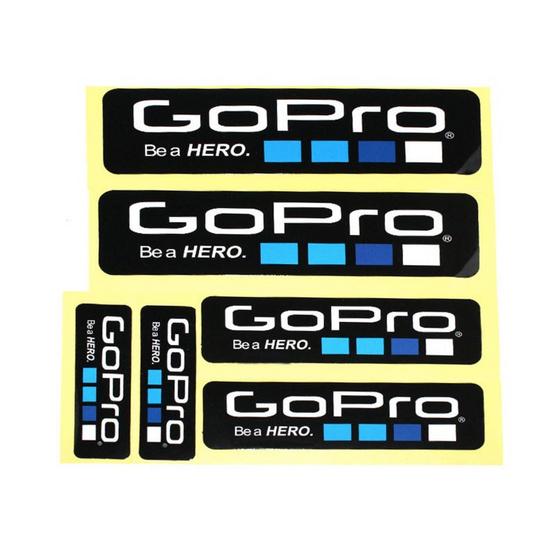 GoPro Sticker 6 pcs