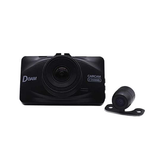 Dcam กล้องติดรถยนต์ Pro2 Dual Full HD 1080P หน้า-หลัง