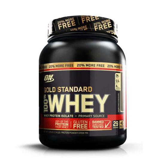 ON Optimum Whey protein เวย์โปรตีน รุ่น Gold ขนาด 2.4 lbs รสช็อคโกแลต
