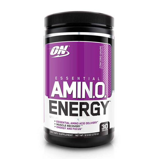 ON Optimum ผลิตภัณฑ์เสริมอาหาร Amino Energy บรรจุ 270 กรัม ทานได้ 30 ครั้ง รสองุ่น