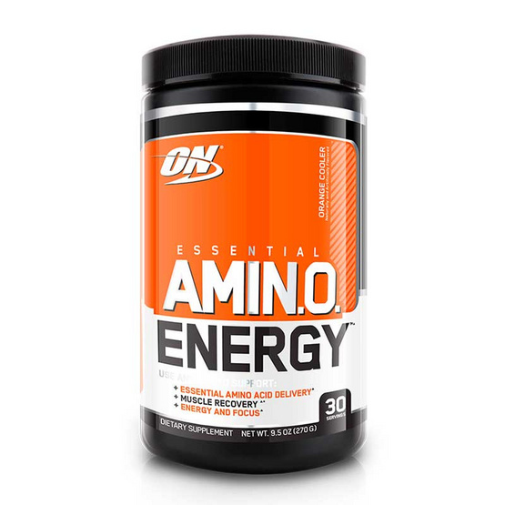 ON Optimum ผลิตภัณฑ์เสริมอาหาร Amino Energy บรรจุ 270 กรัม ทานได้ 30 ครั้ง รสส้ม