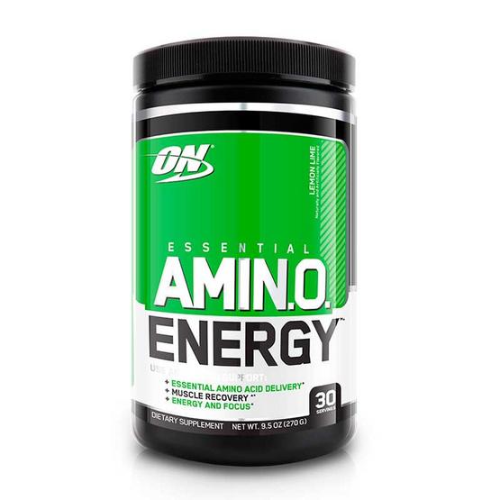 ON Optimum ผลิตภัณฑ์เสริมอาหาร Amino Energy บรรจุ 270 กรัม ทานได้ 30 ครั้ง รสเลมอน