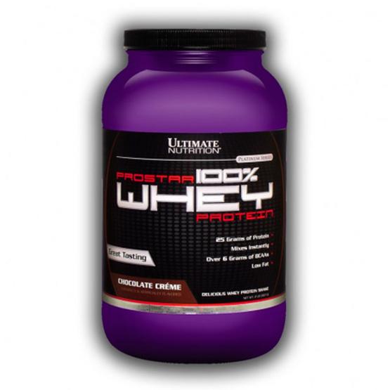 Ultimate PROSTAR Whey Protein เวย์โปรตีน ขนาด 2 lbs รสช็อคโกแลต