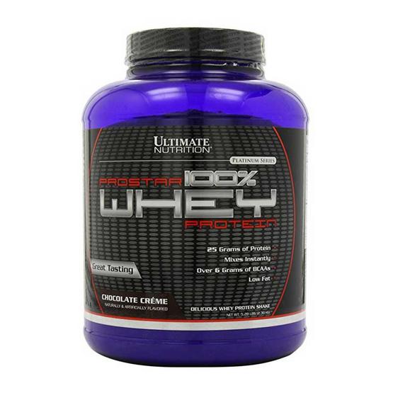 Ultimate PROSTAR Whey Protein เวย์โปรตีน ขนาด 5.28 lbs รสช็อคโกแลต
