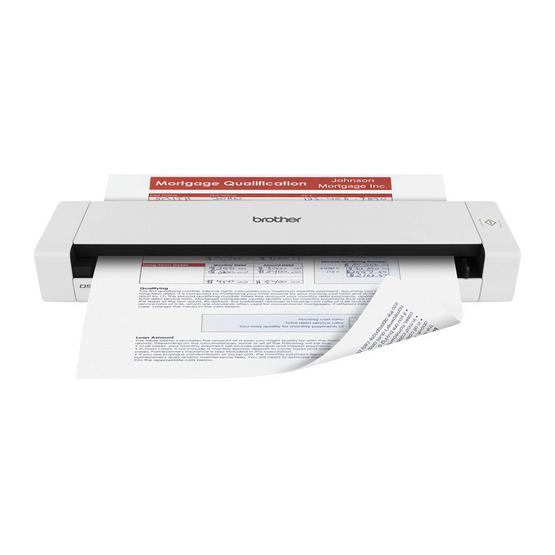 Brother DS-720D Mobile Document Scanner