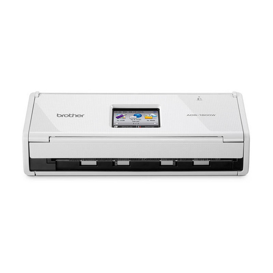 Brother ADS-1600W Compact Document Scanner