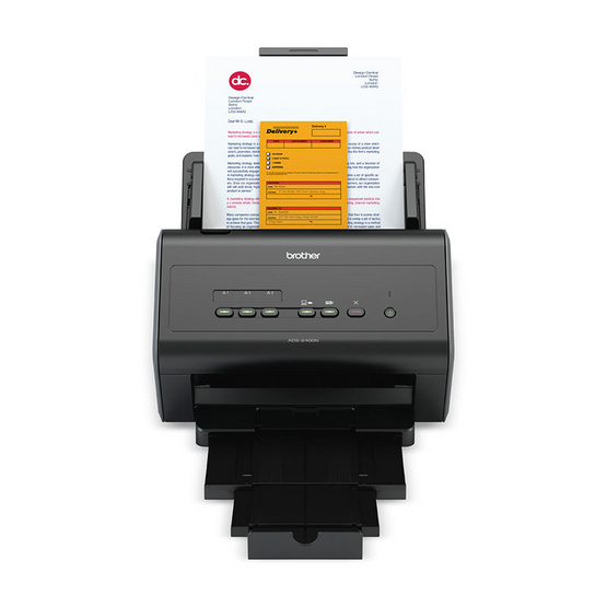 Brother ADS-2400N Desktop/Workgroup Document Scanner