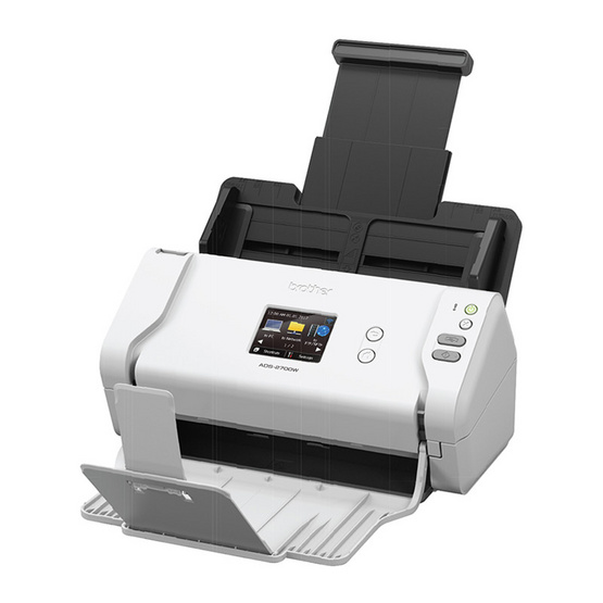 Brother ADS-2700W Desktop/Workgroup Document Scanner