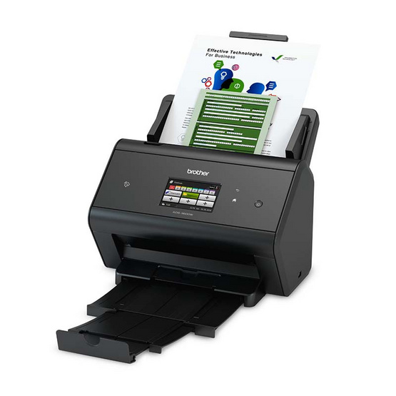 Brother ADS-3600W Desktop/Workgroup Document Scanner