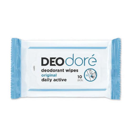 DEOdore Original Deodorant Wipes