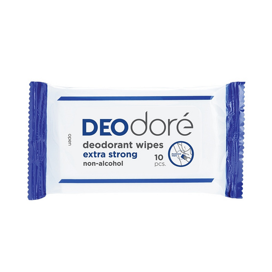 DEOdore Deodorant Wipes extra strong
