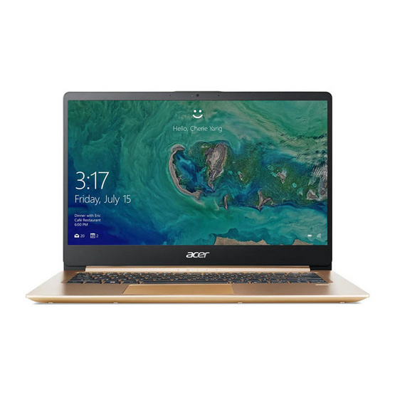 Acer Notebook Swift SF114-32-P8RM PQCN5000 4G 128GINT W10 G Luxury Gold