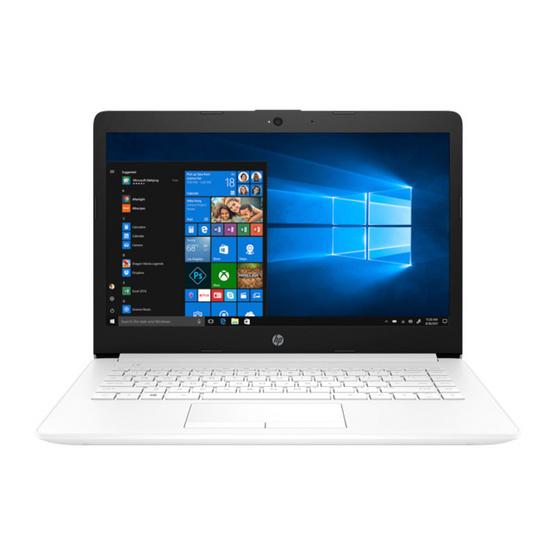 HP Notebook 14-cm0011AU Snow White