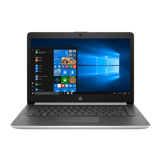 HP Notebook 14-ck0012TX Natural Silver